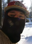 me in my hockey ski mask