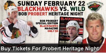 Bob Probert Heritage Night?