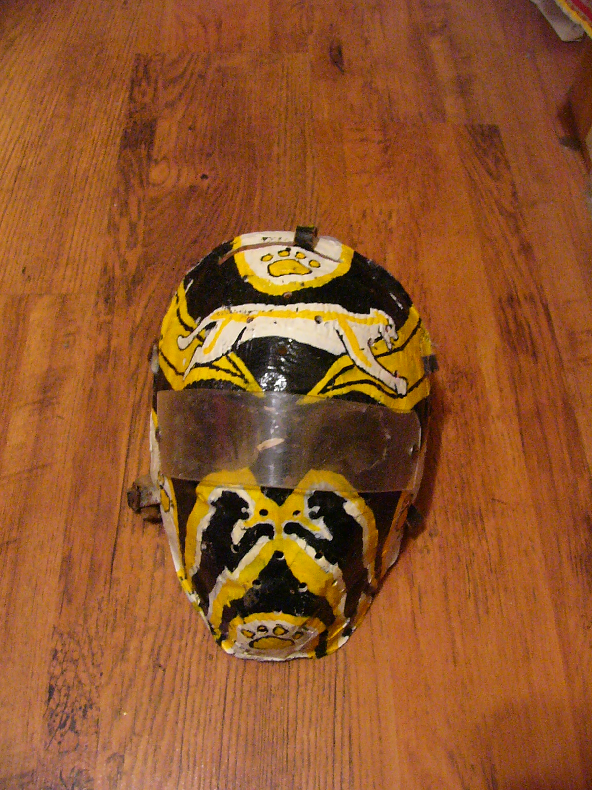 My Goalie Masks Through The Years Between The Pipes