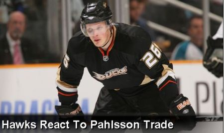 Pahlsson Trade Isn't What Hawks Needed